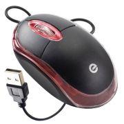 Mouse Óptico USB Exbom MS-9 com Led