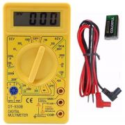 Multímetro Digital com Aviso Sonoro Xtrad XT-573