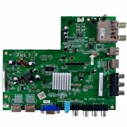 Placa de Sinal TV Philco PH24M Led A2 Pn MSD1309BT_V1.2 - Nova