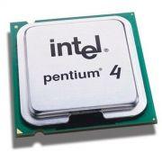 Processador Intel Pentium 4 HT 520 1M Cache / 2.80 GHz / 800 MHz / Socket 775 - Seminovo