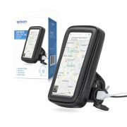 Suporte de Celular com Case e Carregador Usb para Guidão de Moto Exbom SP-CA24
