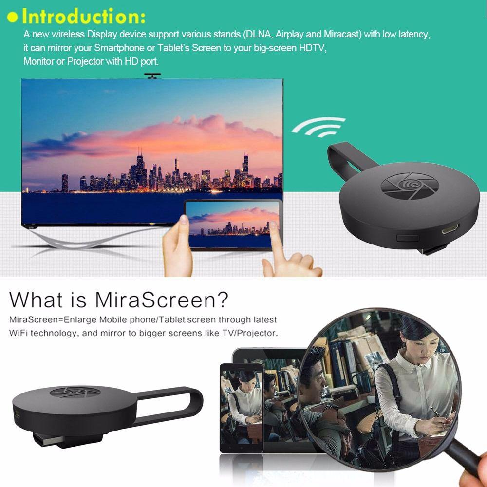 Adaptador de Espelhamento TV Miracast Full HD Hdmi