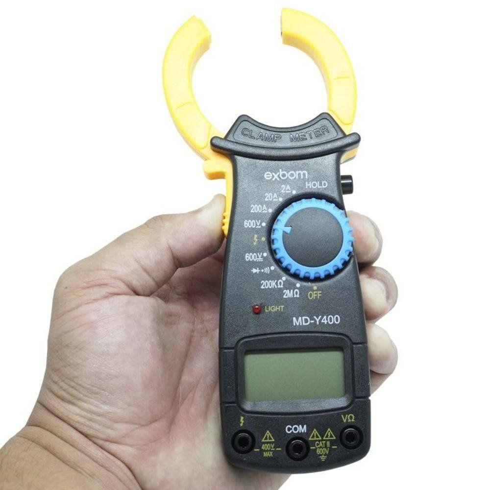 Alicate Amperímetro Digital Exbom MD-Y400