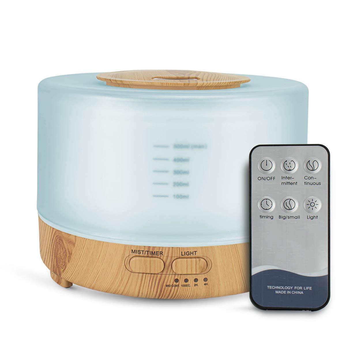 Aromatizador Elétrico Difusor de Aromas Umidificador de Ar com Controle Remoto e LED Luatek LKJ-149