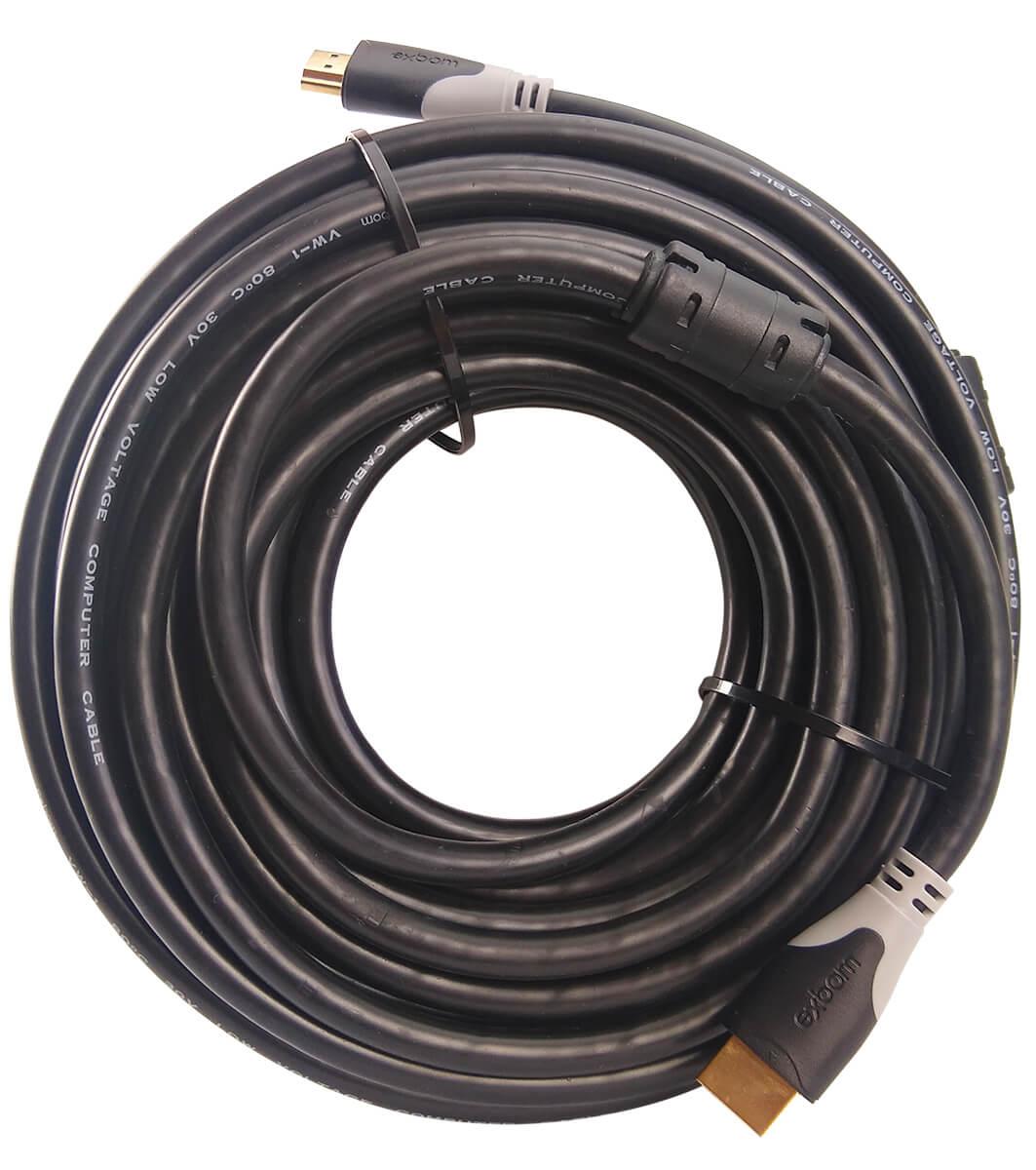 Cabo HDMI 1.4 15 Metros Blindado com Filtro (sem malha) Exbom CBX-H150SM