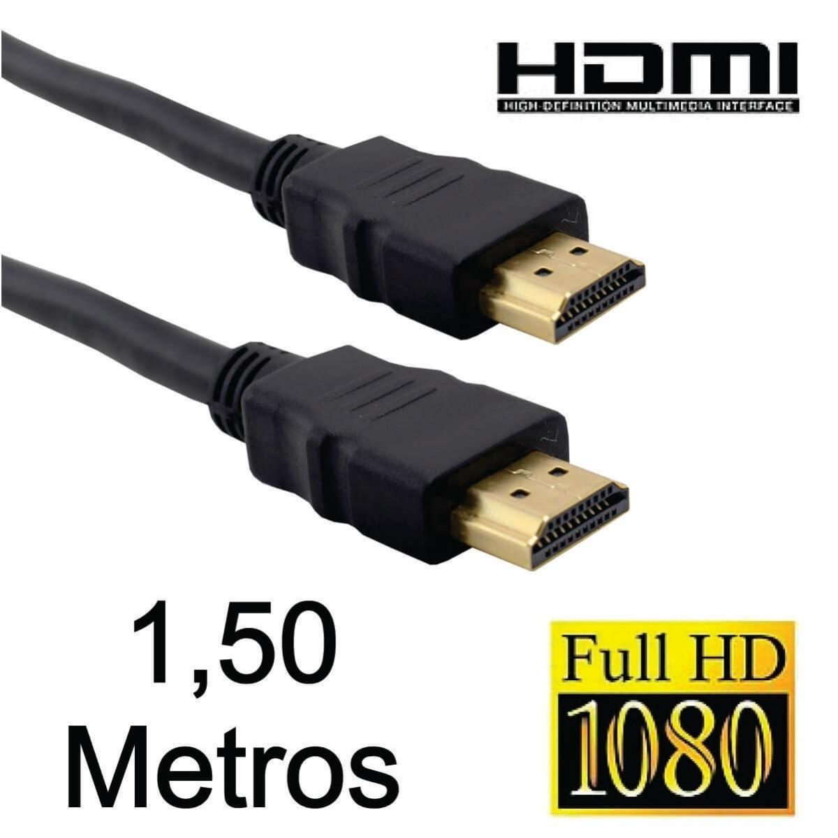 Cabo HDMI 1.4 1,5 Metros Knup KP-H5000 (KP-1.5M)