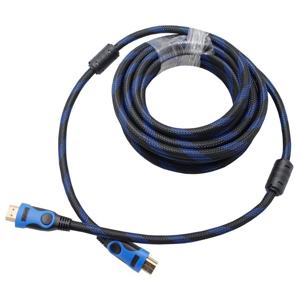 Cabo HDMI 1.4 10 Metros Blindado com Malha e Filtro Exbom CBX-H100CM