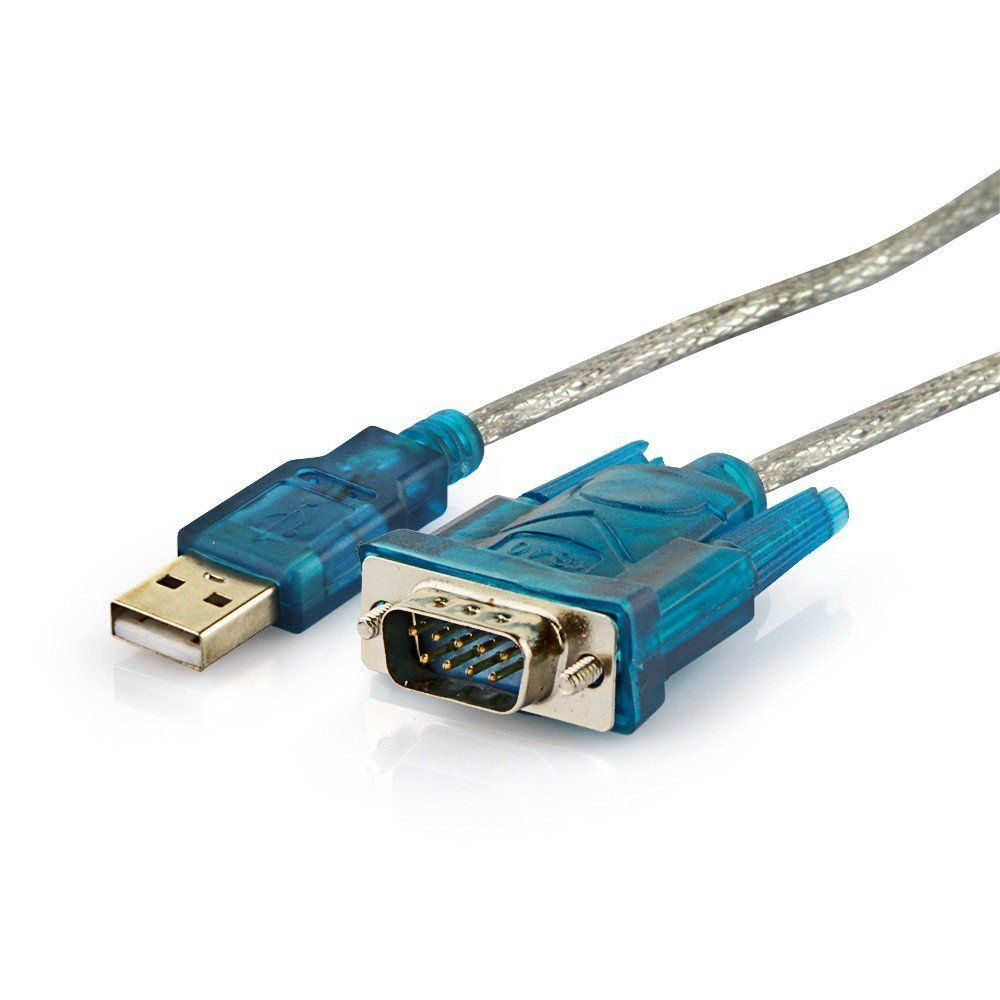 Cabo USB Macho para Serial RS232 Macho + Adaptador Serial RS232 Fêmea para Paralelo 25 Pinos Macho