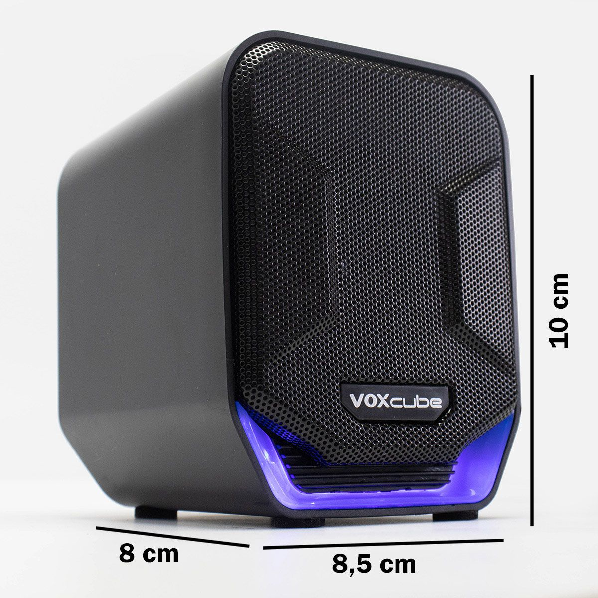 Caixa de Som 8 Watts Rms 2.0 para PC Infokit VC-D360