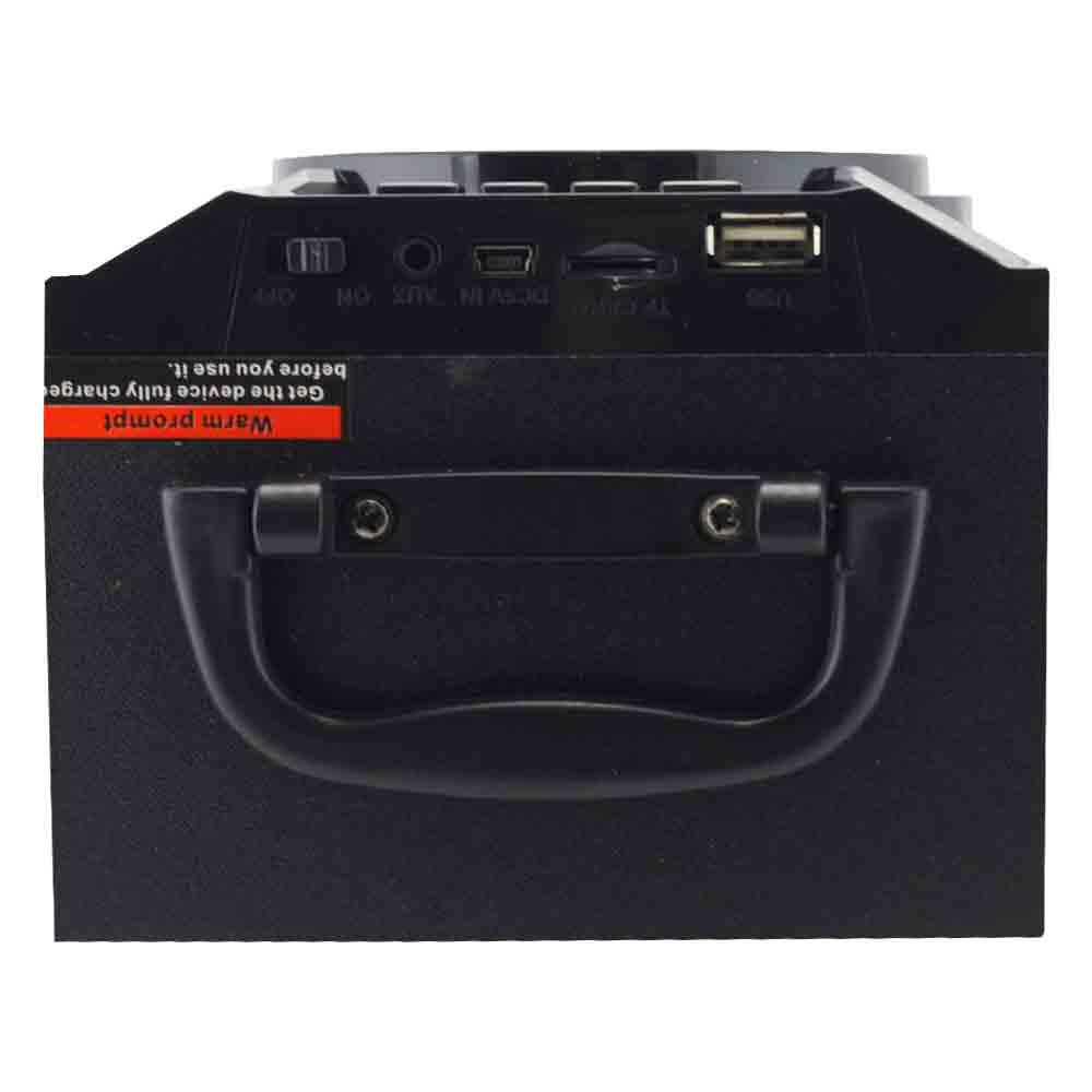 Caixa de Som 8 Watts Rms Bluetooth / Rádio FM / Entrada Micro SD e USB Xtrad MS-147BT