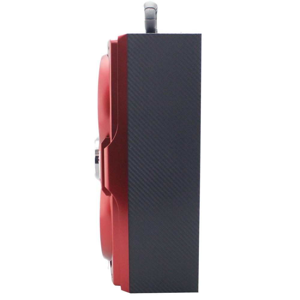 Caixa de Som Bluetooth 12 Watts Rms Infokit VC-M874BT c/ Visor SD/USB/FM e Microfone