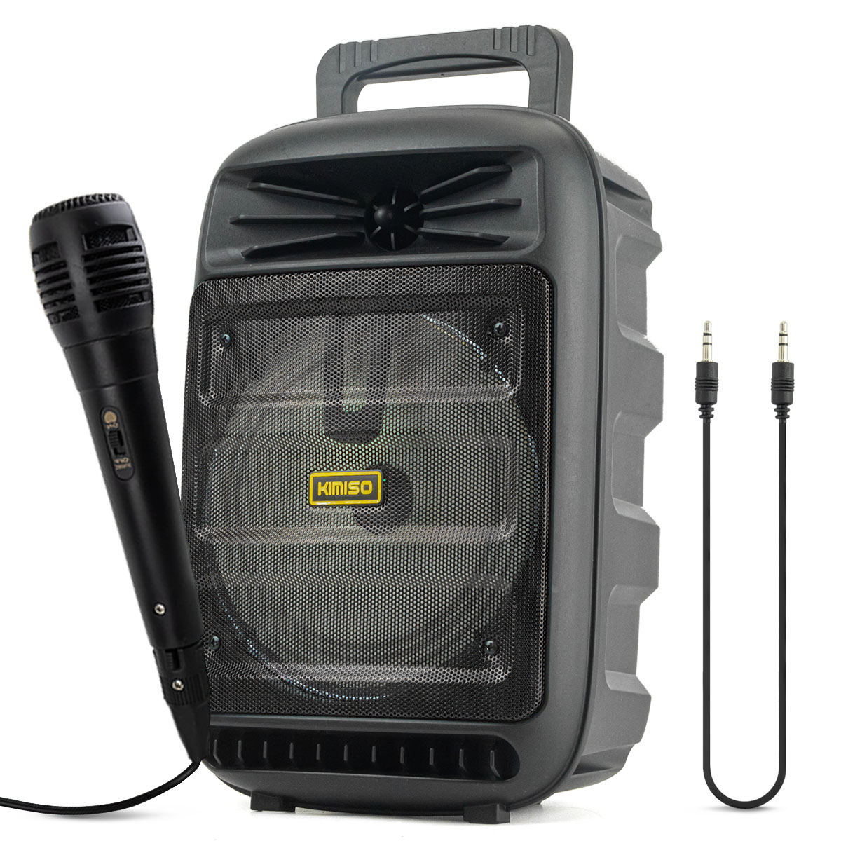 Caixa de Som Bluetooth Portátil 10 Watts RMS com Microfone Kimiso KMS-3385