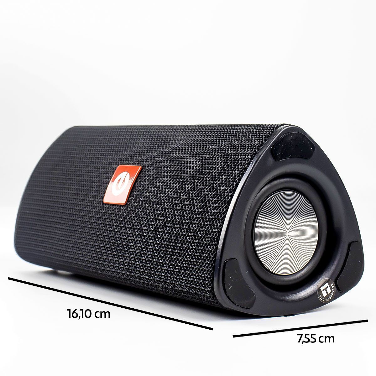 Caixa de Som Bluetooth Portátil Multimídia 10 Watts Rms Exbom CS-M33BT