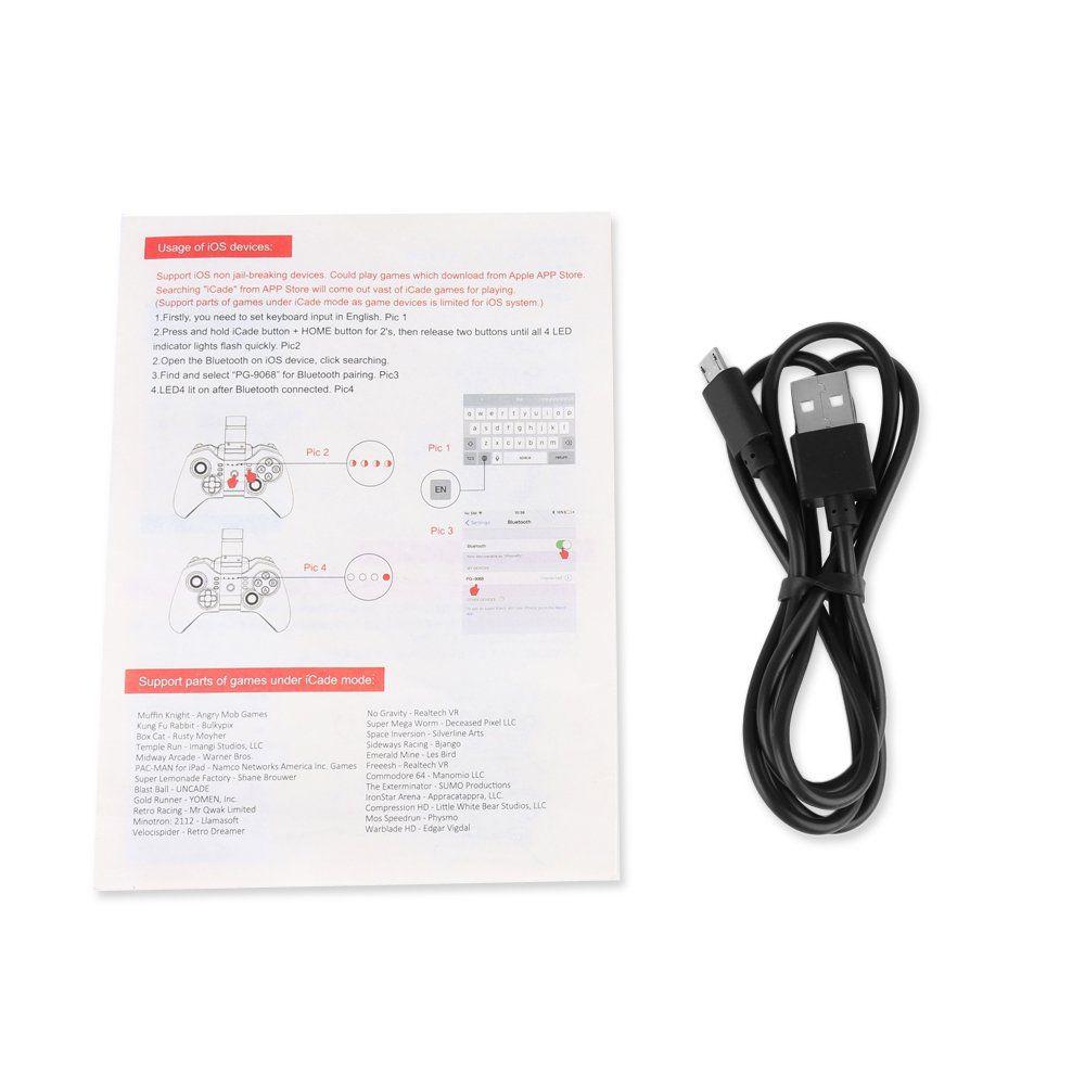 Controle Bluetooth Tomahawk Ipega 9068 para Celular Tablet PC