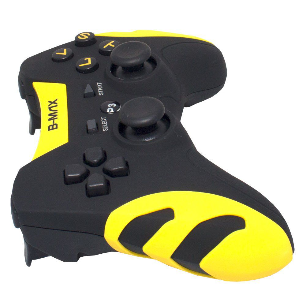 Controle Sem Fio 4 em 1 para PC/PS1/PS2/PS3 com Bateria B-Max BM-027