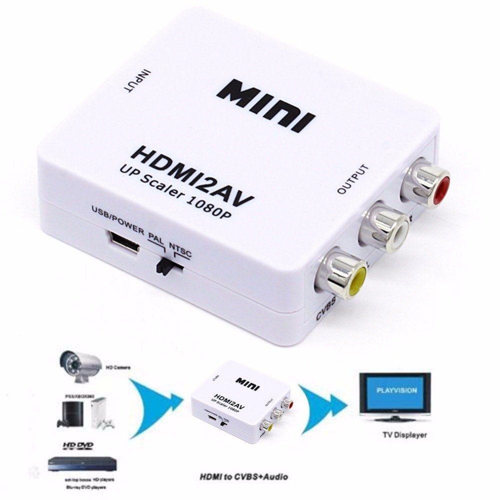 Conversor Hdmi para AV Rca HDMI2AV