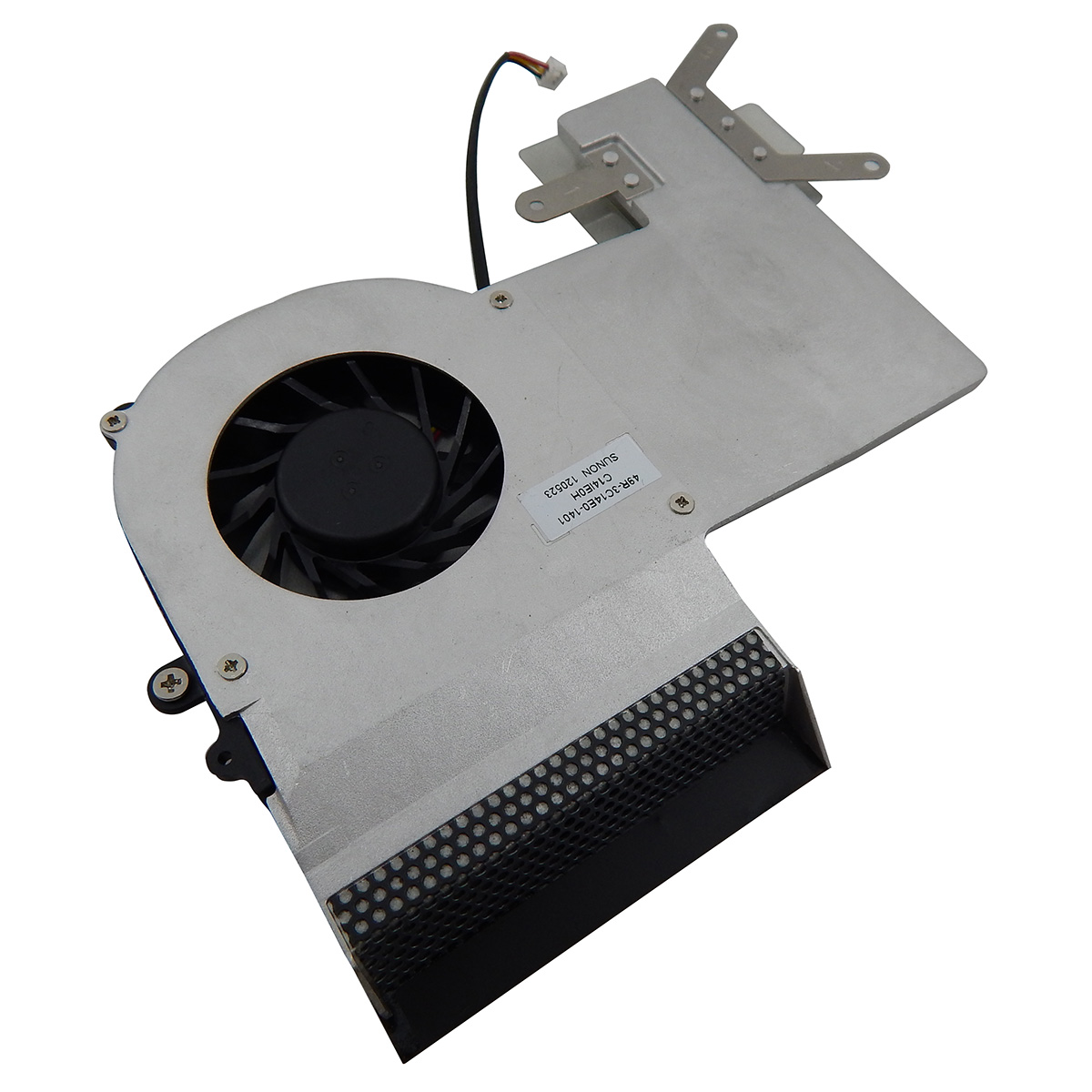 Cooler Fan com Dissipador para Notebook Pn: MF60120V1-C410-G99 / 49R-3C14E0-1401