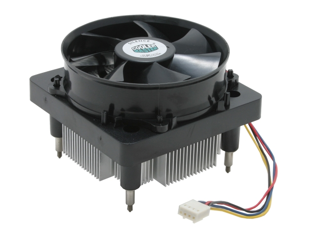 Cooler p/ PC Intel 775 Cooler Master Base Quadrada c/ Parafusos - Usado