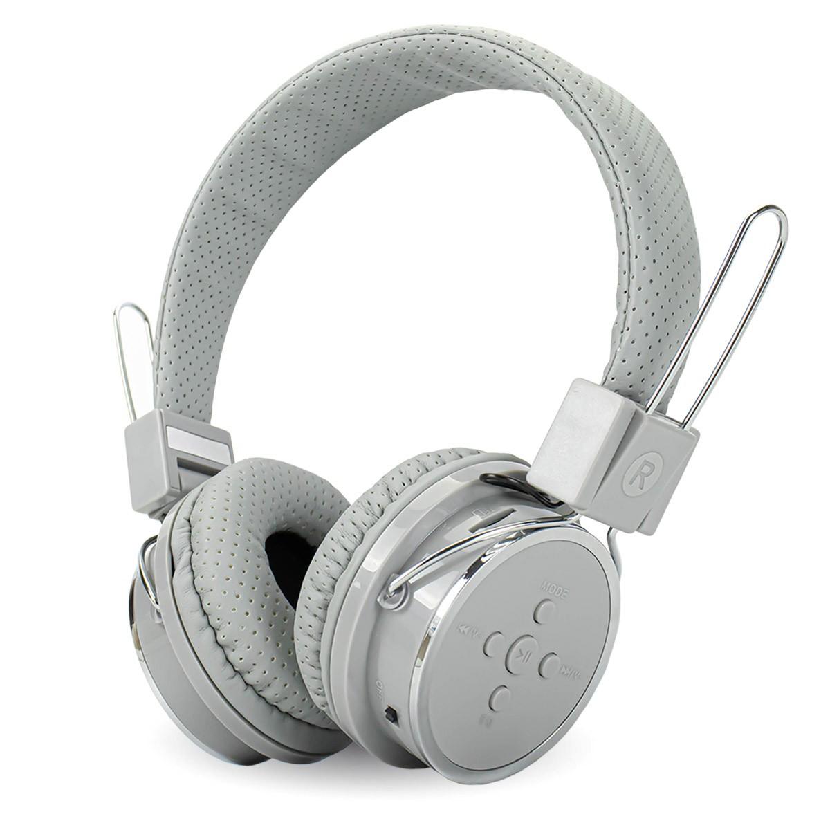 Fone de Ouvido Sem Fio Headphone Bluetooth com Rádio FM e P2 Knup KP-367