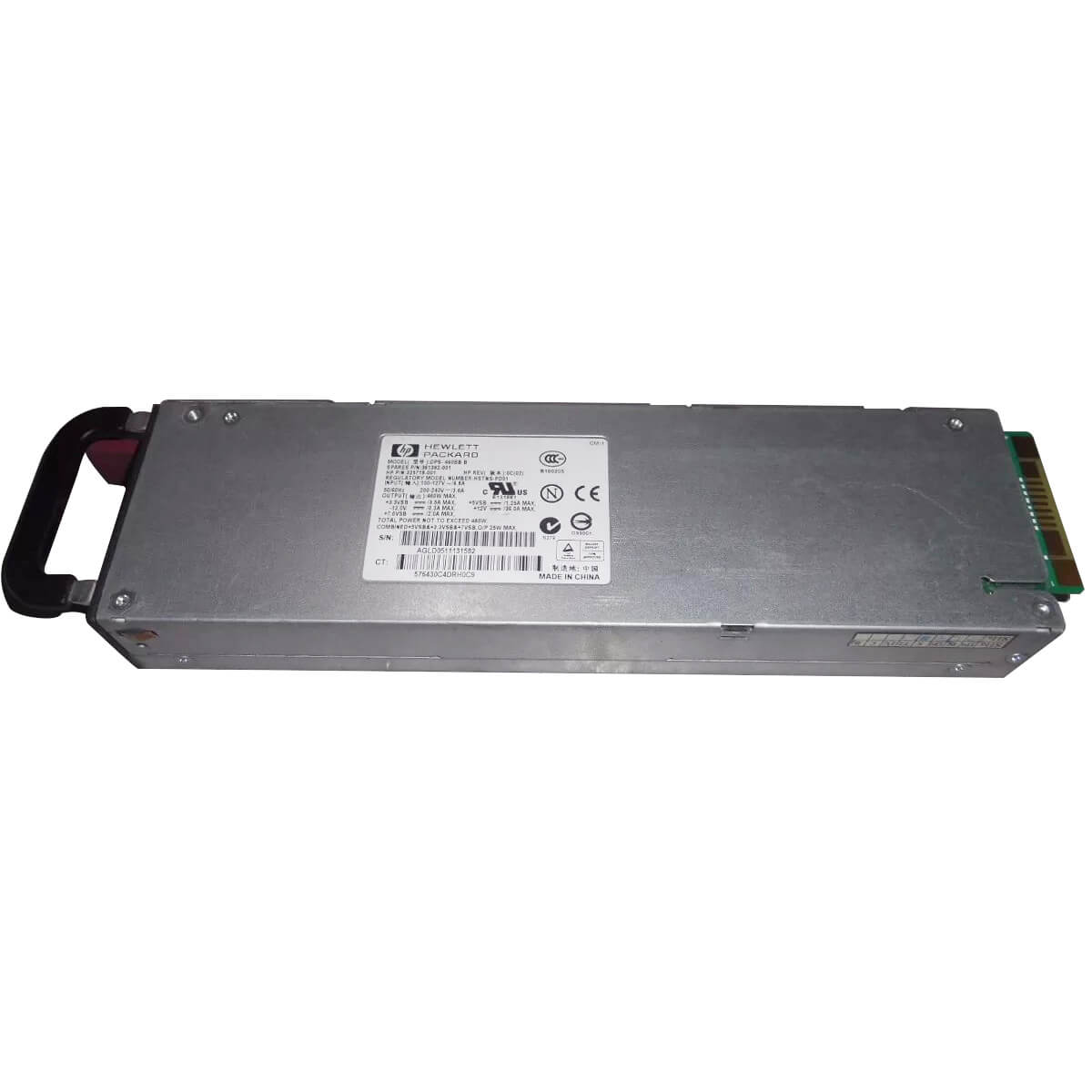 Fonte Servidor HP DL360 G4 460w DPS-460BB 325718-001 361392-001 - Usada