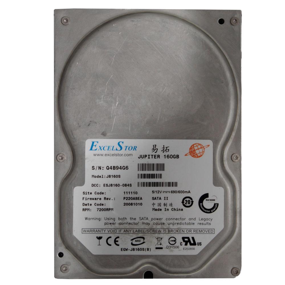 HD para Desktop 160Gb Sata Varias Marcas - Seminovo