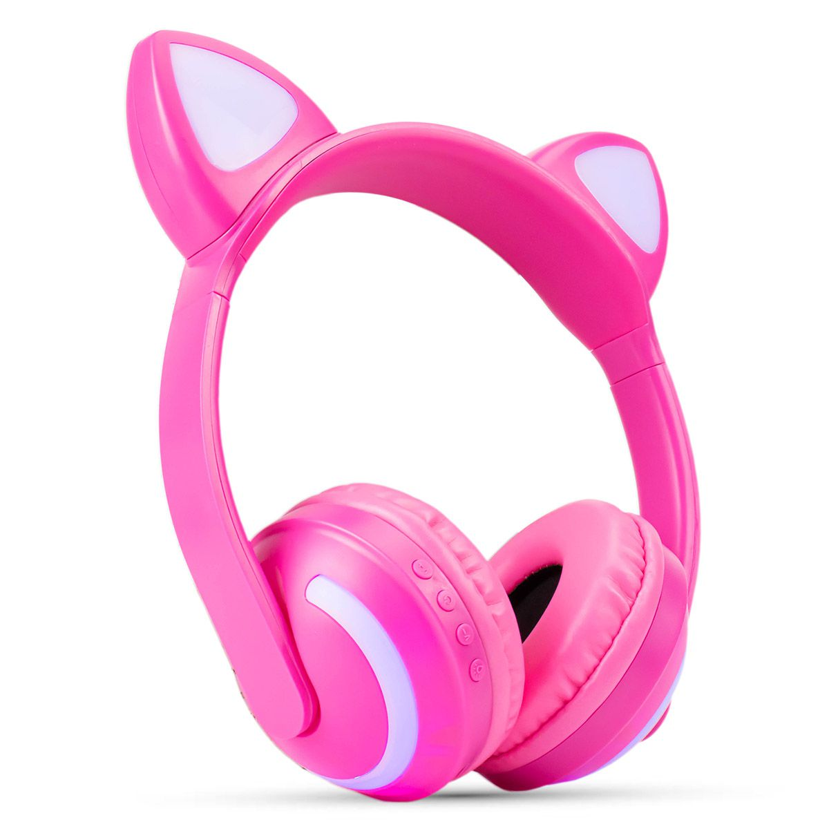 Headphone Bluetooth Orelhas de Gato com Led Exbom HF-C240BT