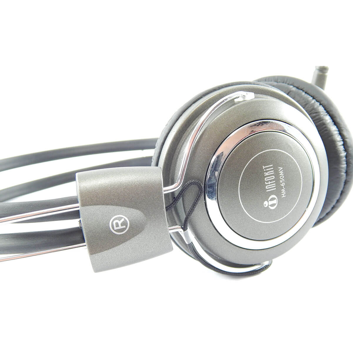 Headset com Microfone Infokit HM-650MV