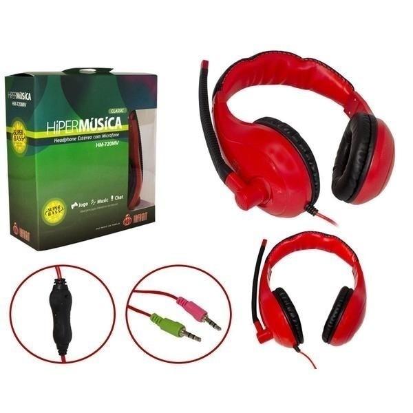 Headphone c/ Microfone Infokit HM-720MV