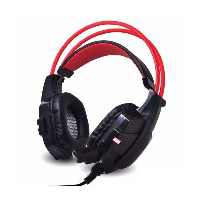 Headphone Gamer c/ Microfone e LEDs Coloridos Infokit GH-X20