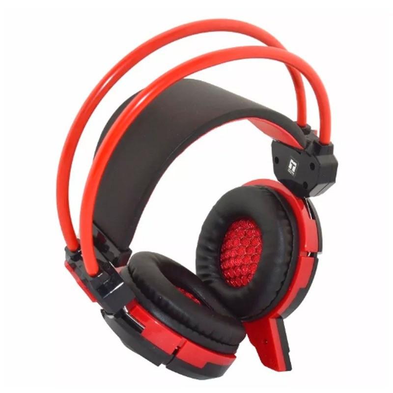 Headset Gamer com Microfone e LEDs Coloridos Infokit GH-X30