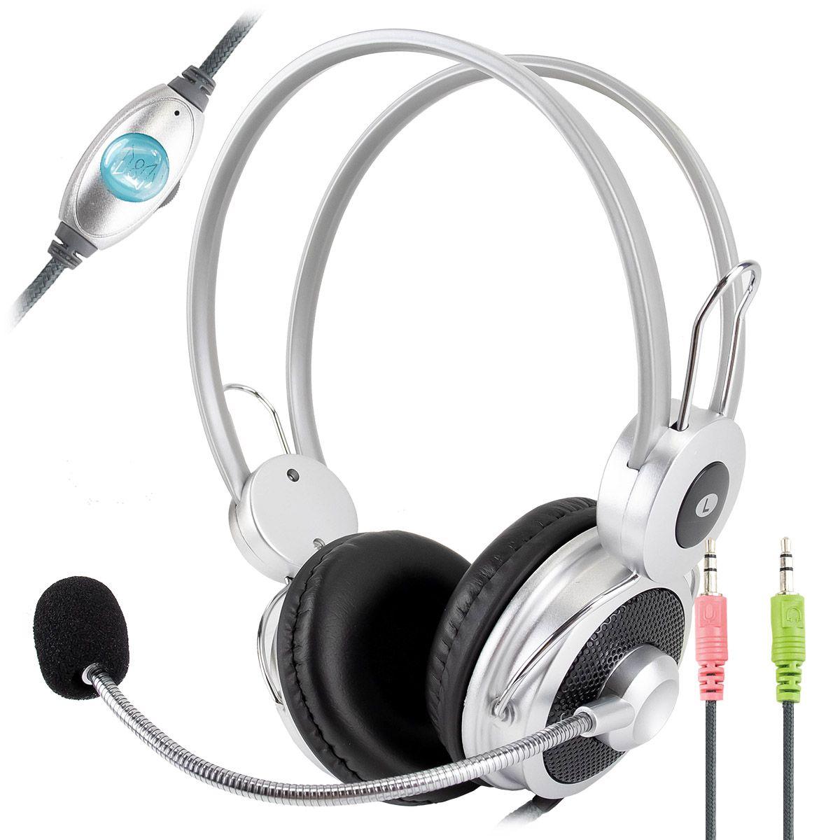 Headset com Microfone Infokit HM-610MV