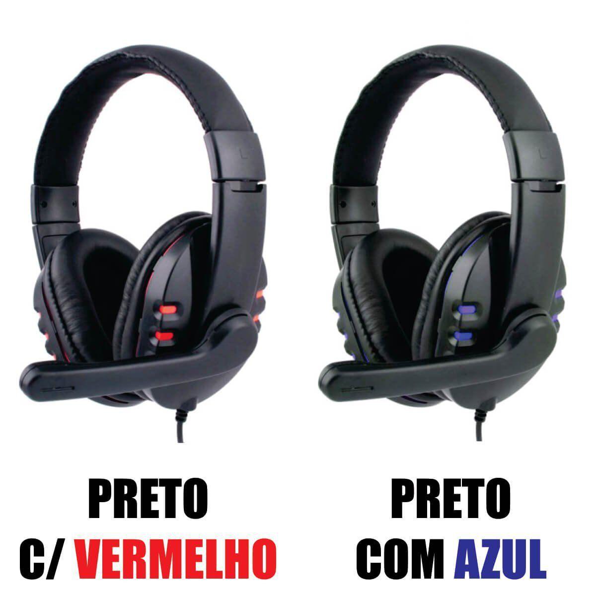 Headset Gamer Usb Digital Estéreo com Microfone Eletro Q7