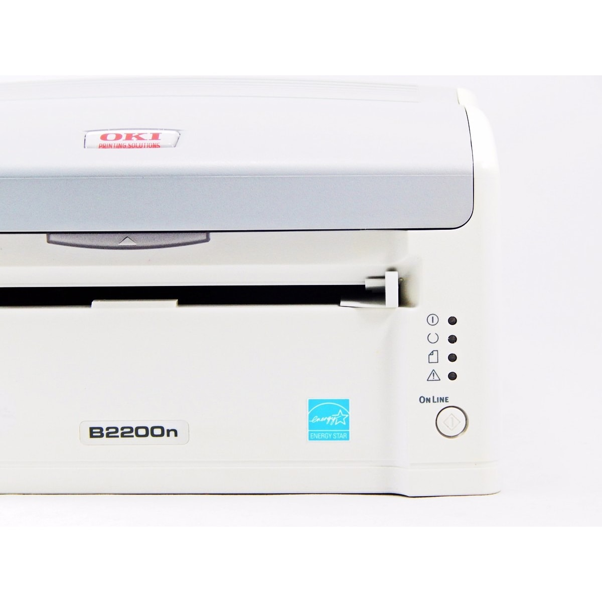 Impressora Laser Monocromática OKI B2200n c/ Toner - Usada