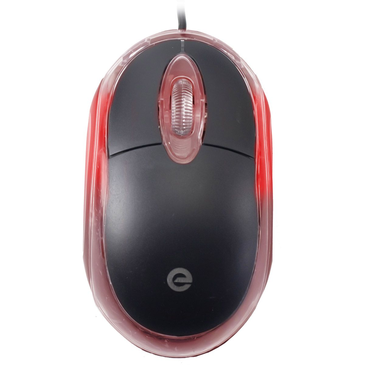 KIT 20x Mouse Óptico USB Exbom MS-9 com Led