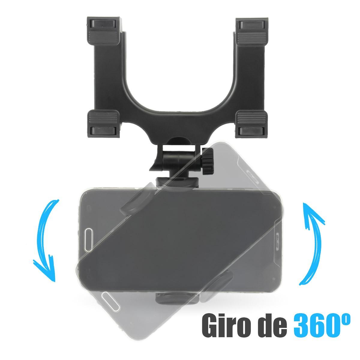KIT 3x Suporte para Celular Veicular de Retrovisor B-Max BMG-21