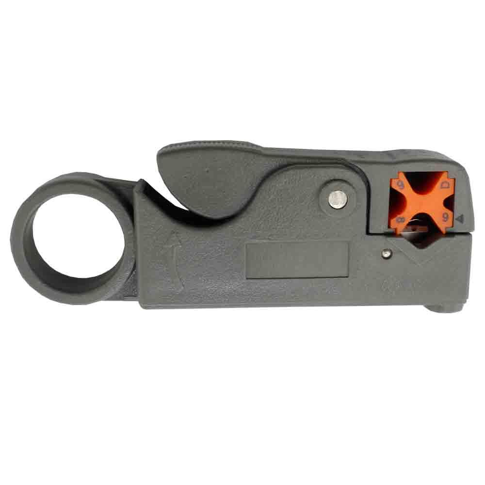KIT Alicate de Crimpar 210c + Alicate p/ Crimpar Coaxial + Alicate Decapador Cabo Coaxial + 50x Conectores RJ45 + Multímetro DT-830B