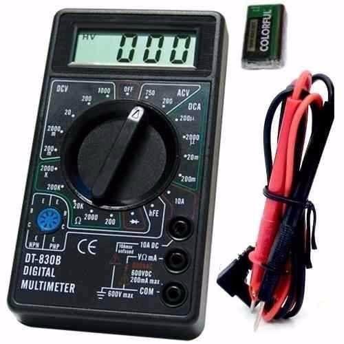 KIT Alicate de Crimpar 210c + Multímetro com Aviso Sonoro XT-573 + 50x Conectores RJ45