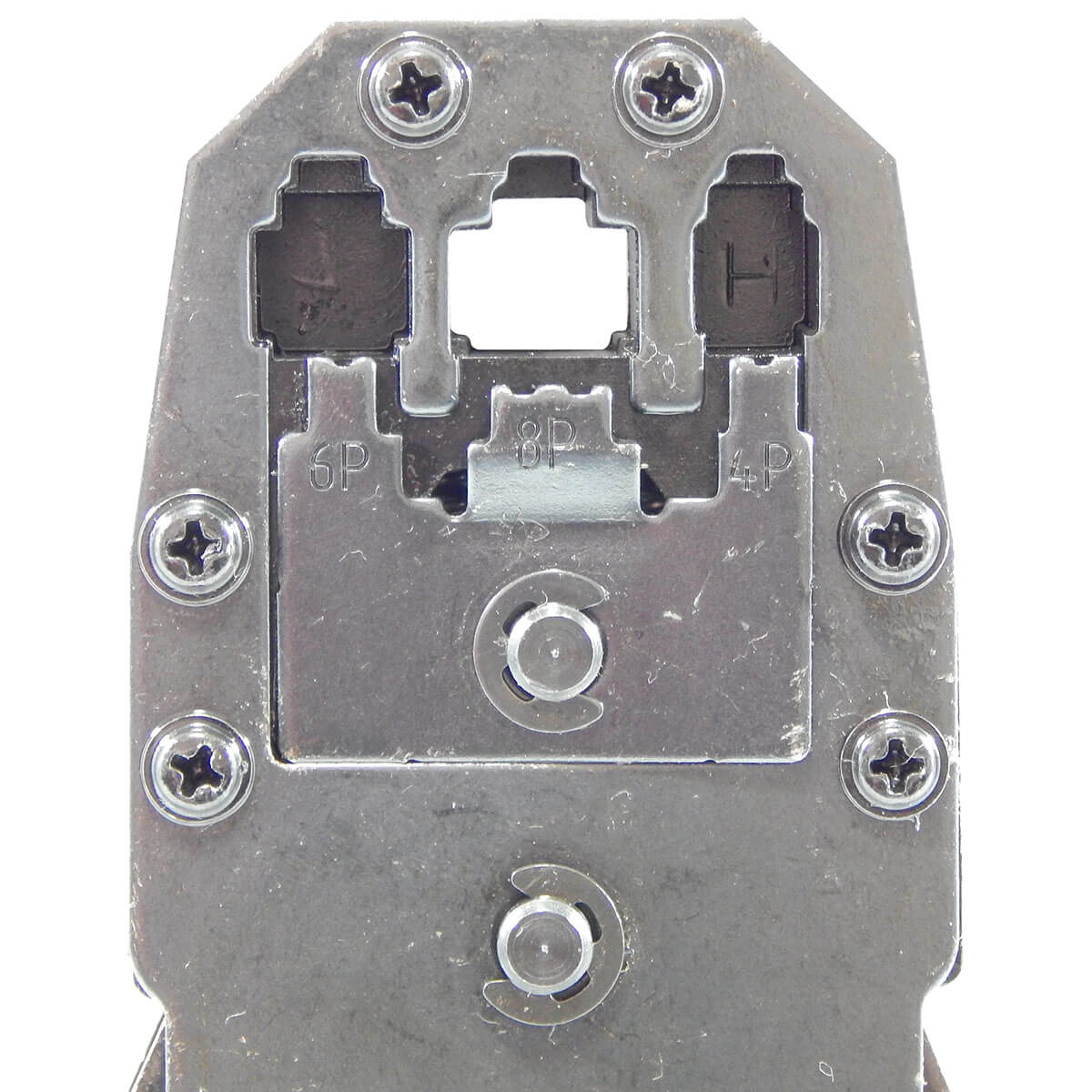 KIT Alicate p/ Crimpagem RJ45 e RJ11 + 100x Conectores RJ45