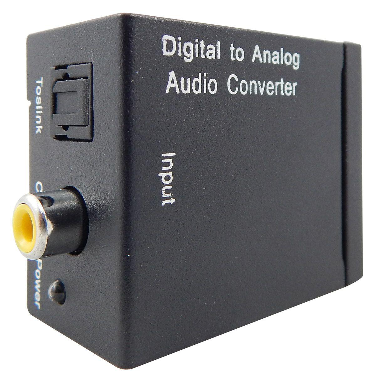 KIT Conversor Áudio Digital para RCA + Cabo Óptico Toslink 2 metros