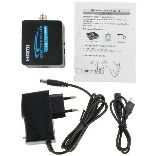 Kit Conversor de SDI para HDMY AY37 + Conversor de HDMI para SDI/BNC AY31