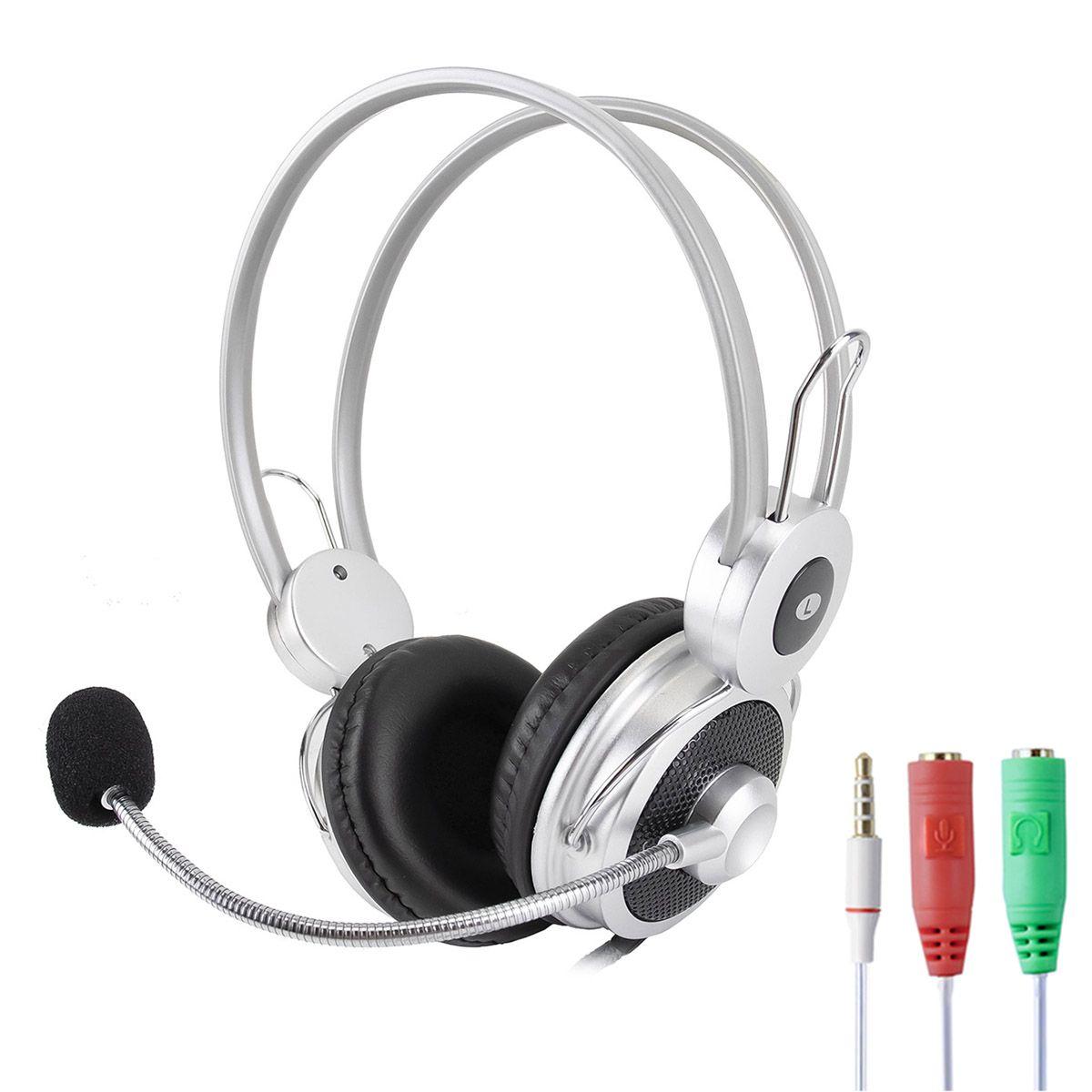 KIT Headset com Microfone Infokit HM-610MV + Adaptador P3 X P2