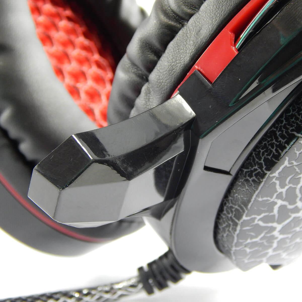KIT Headset Gamer com Microfone e Led Colorido Exbom GH-X10 com Adaptador P3 x P2