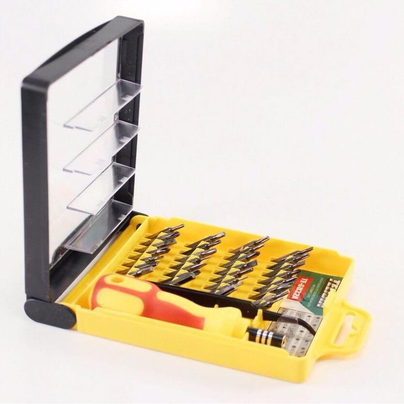 Kit Jogo de Chaves de Precisão com 32 peças Telijia TE-6032A