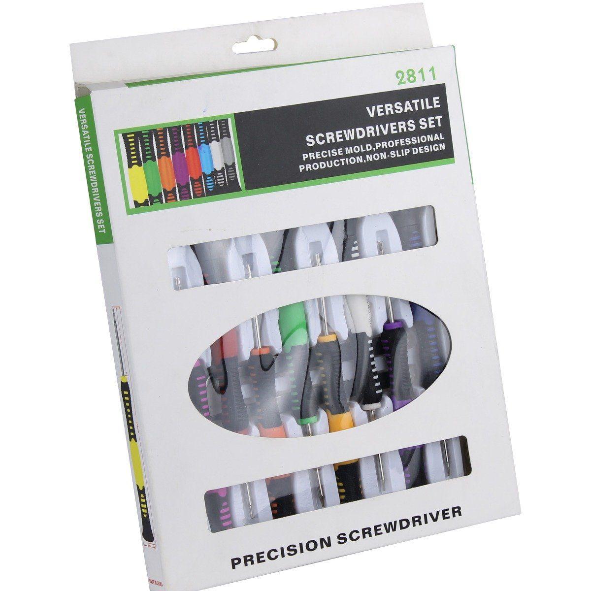 Kit Jogo de Chaves de Precisão e Ferramentas para Manutenção com 16 peças Xtrad XT-832