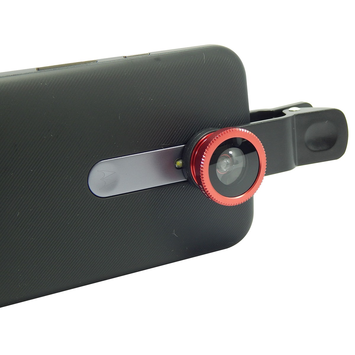 Kit Lentes p/ Celular 3x1 Fisheye / Wide / Macro