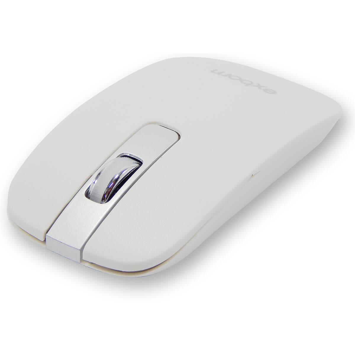 Kit Teclado e Mouse Sem Fio Exbom BK-S1000