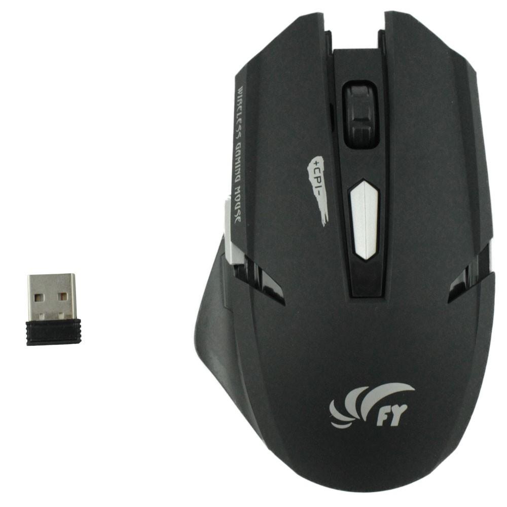 Kit Teclado e Mouse Sem Fio FY KM-518