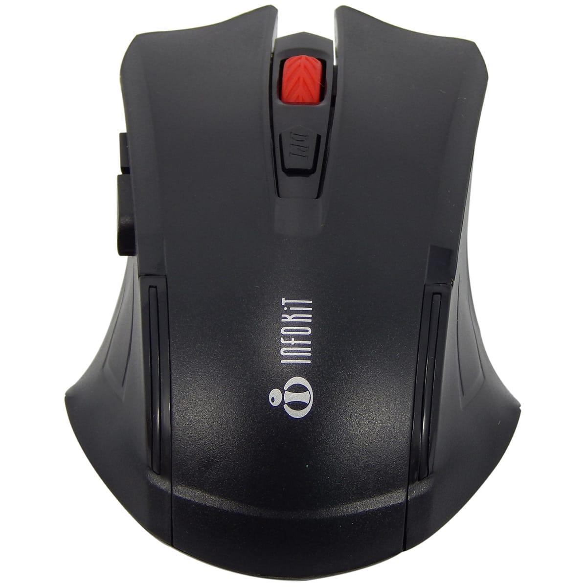 Kit Teclado e Mouse Sem Fio Gamer Infokit SF-X40
