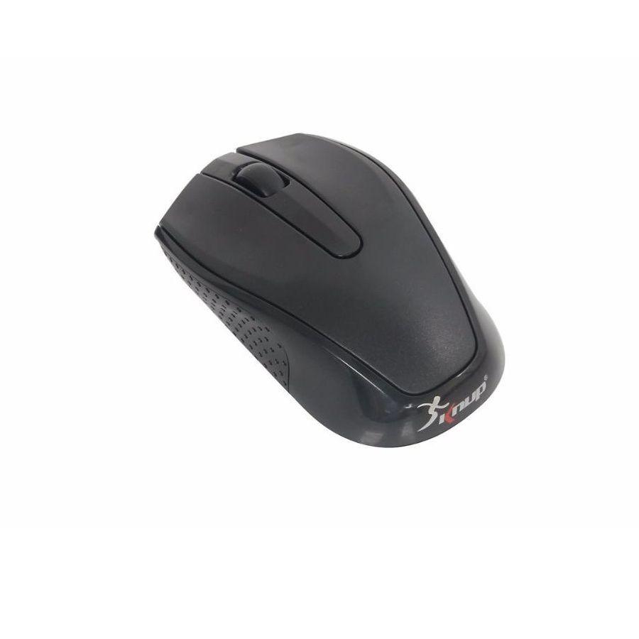 Kit Teclado e Mouse Sem Fio Knup KP-2012