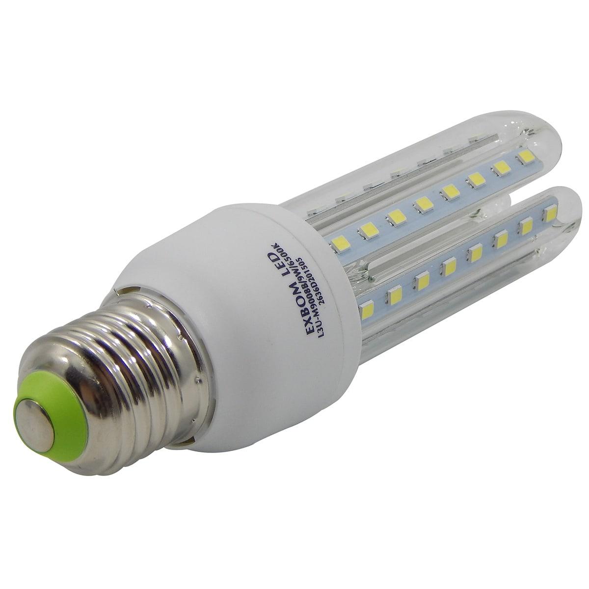 Lampada LED 3U/9W/E27/6500K Exbom L3U-M900B